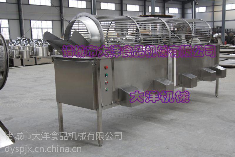滚筒式猕猴桃分级机,专业芥菜分大小的机器