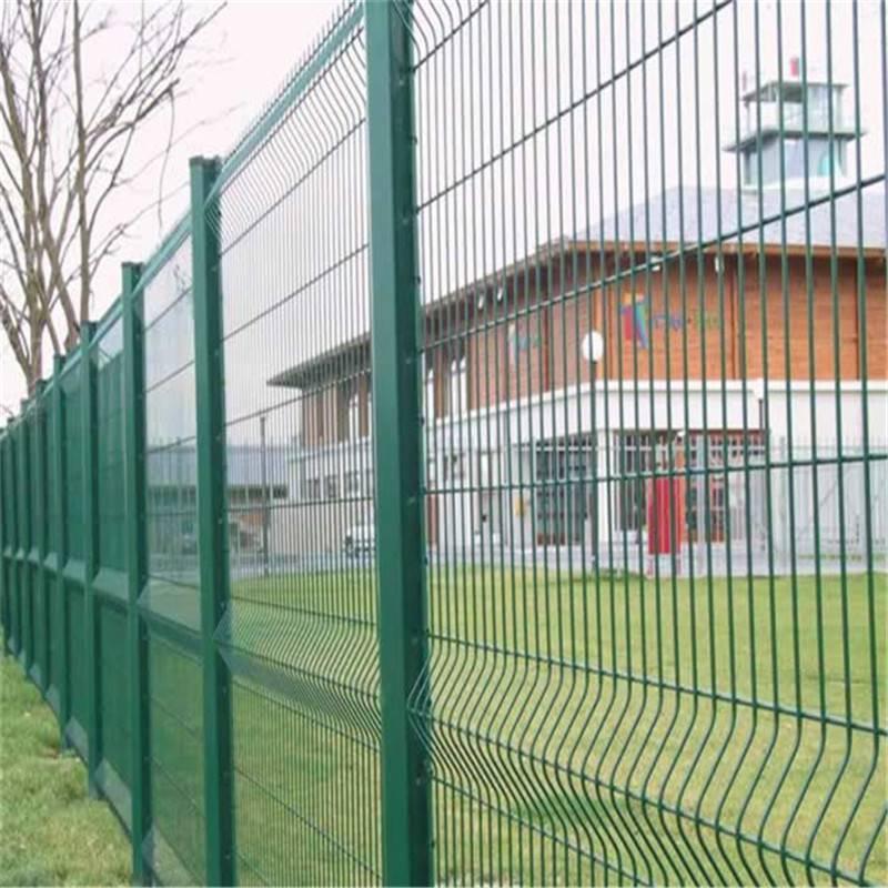 双边丝防护网 护栏网厂 公路隔离网
