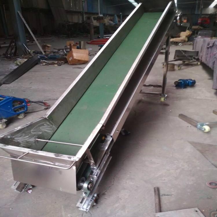 自动装卸皮带机 化工原料输送设备 带式输送机型号A5报价