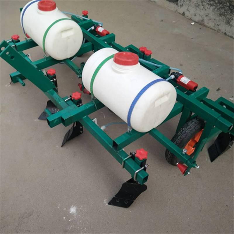 新型花生覆膜喷药机 手扶带动打药地膜覆盖机 多功能喷药覆膜机