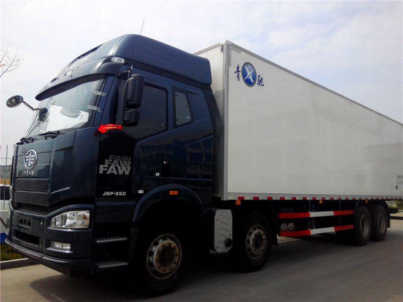 冷藏车,QKY5310XLC5冷藏车,解放冷藏车,9.6米冷藏车