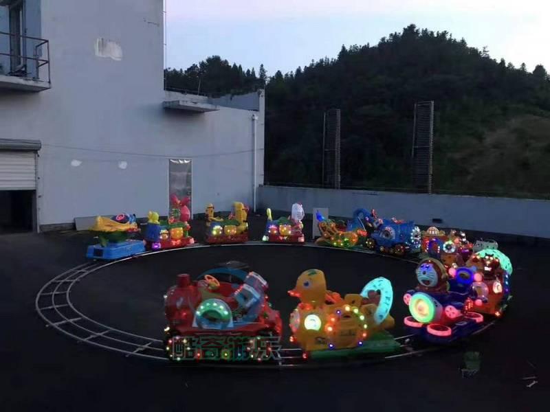 托马斯轨道小火车 室外儿童游乐场投资好项目