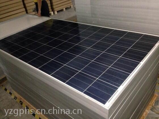 山东菏泽太阳能板回收260瓦265瓦二手光伏板回收价格