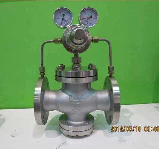 16p不锈钢气体减压阀||yk43x-25p天然气减压阀||yk43x-40p空气减压阀图片