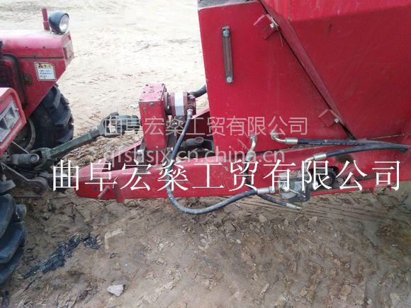 宏燊供应猪牛羊粪抛粪机 拖拉机牵引式液压双圆盘撒粪机