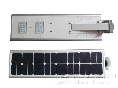 供应广西桂林雁山区红外智能调节一体化太阳能路灯