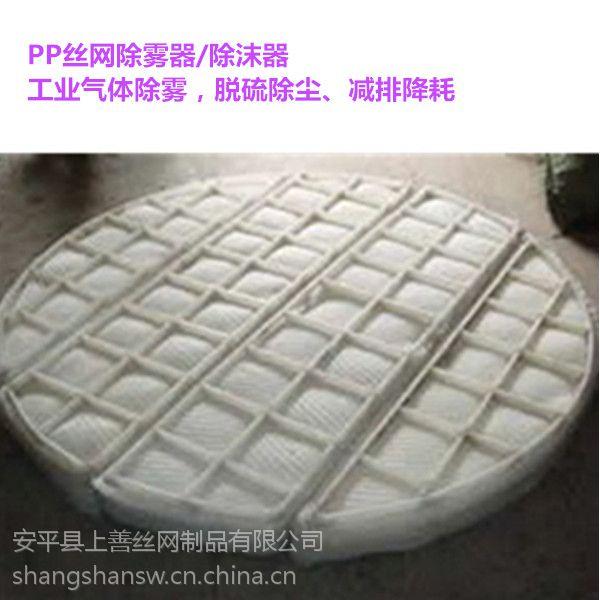 安平县上善聚乙烯丝网除雾器按规格定制欢迎选购
