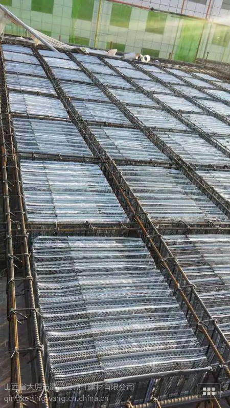 山西太原钢制芯模在空心楼板中的应用