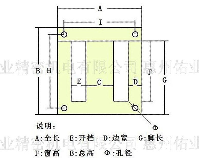 ei矽钢片尺寸_【供应日本JFE EI57 EI矽钢片 变压器 铁芯 电工钢 硅钢片价格 低 ...