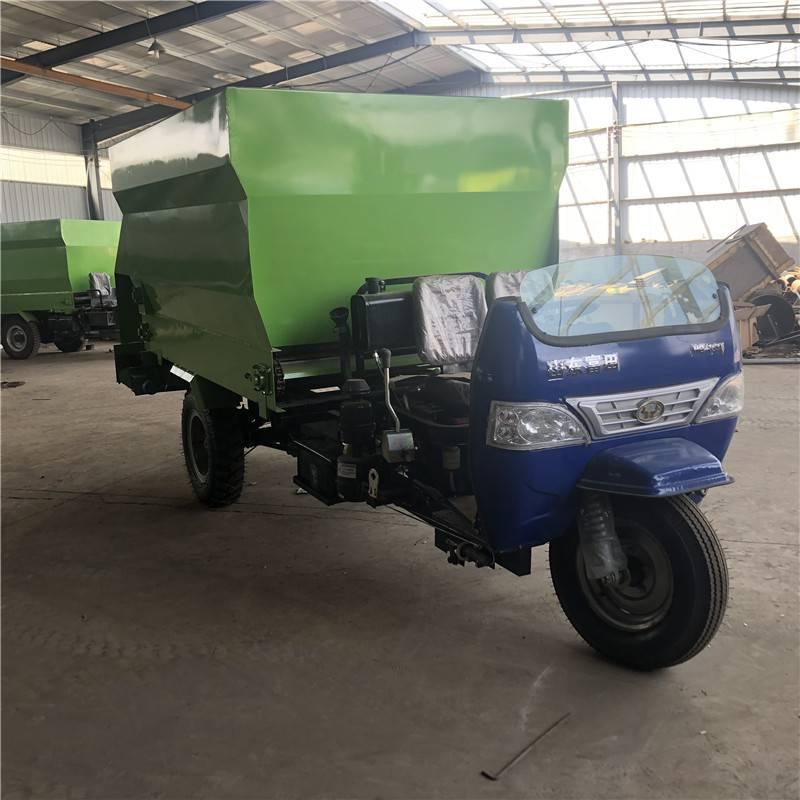 奶牛全面提高喂养速度 全自动输送撒料车 畜牧养殖投喂车