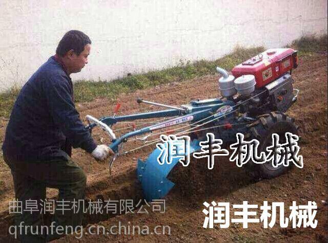 柴油风冷旋耕机 润丰 好操作轻便旋耕机使用视频