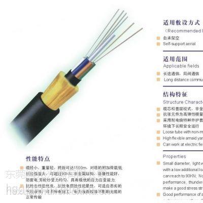 优质电信级标准全介质自承式光缆(ADSS),详询何经理13728441457