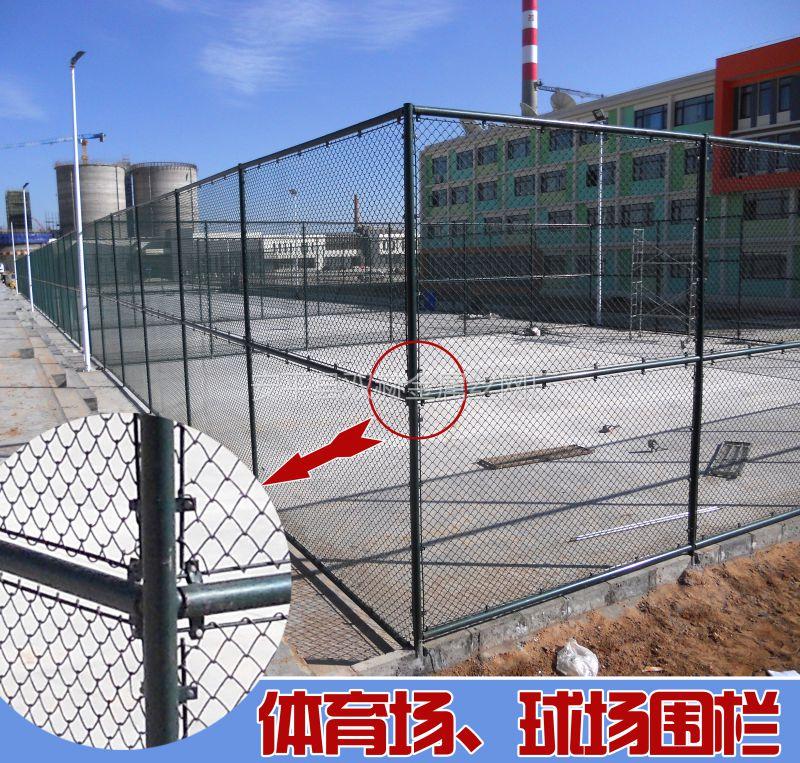 蓝球场围栏网 体育围栏网 球场围栏网 小区运动场围栏网