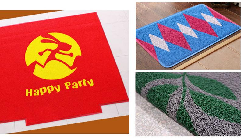 东方龙科地毯打印机 家居地垫 酒店欢迎地毯彩印设备 卷平一体机厂家图片