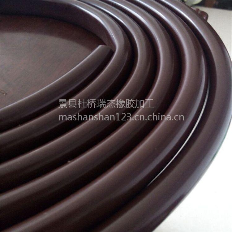 厂家直销 食品级硅胶软管 绝缘套管 硅胶白色10mm异型管