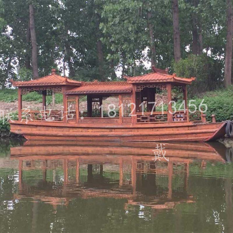 湖南娄底景区高低篷船买哪里 兴化楚风制造 旅游船 电动游船 餐饮船