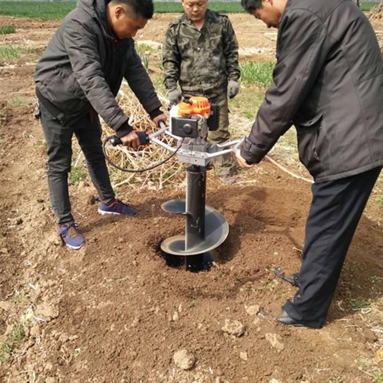 批发零售汽油挖坑机 电线杆打坑机 种树挖坑机 钻眼机