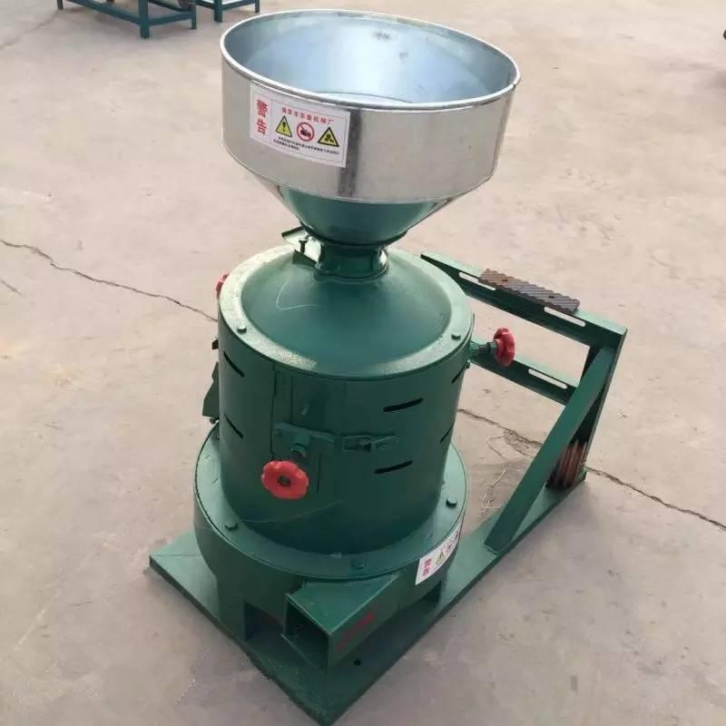 皂角嗑皮剥米机 大型碾米机操作说明 水稻脱皮机富兴直销