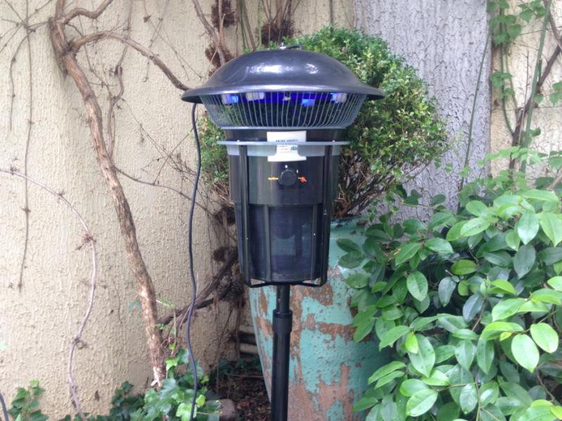 户外花园蓝犀牛生物灭蚊灯SMT-001型