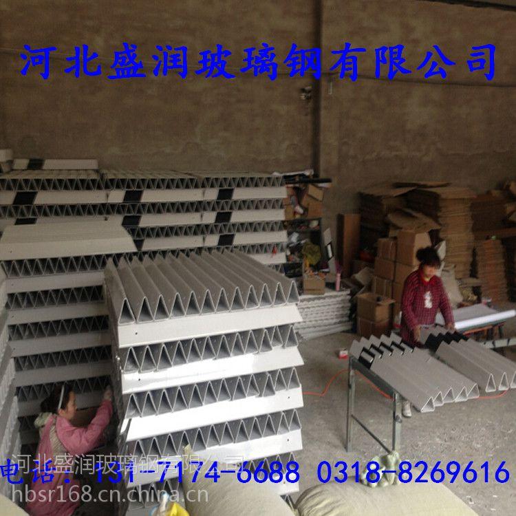 厂家直销玻璃钢柱式轮廓标三角桩 型号120*120*100