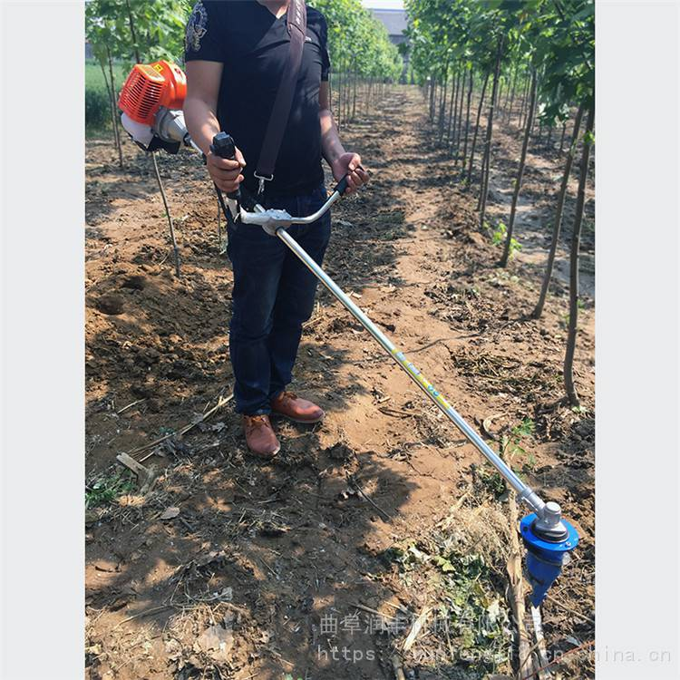 地膜打孔机型号 刀头耐用的地膜打孔机用于移栽 润丰