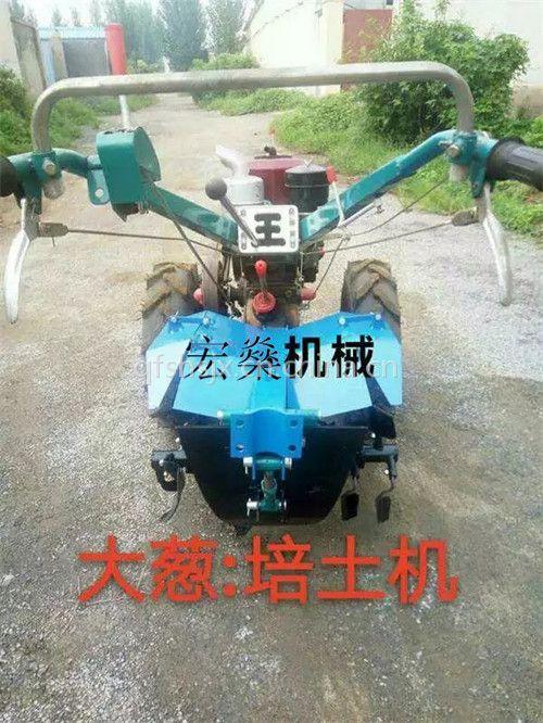 手扶旋耕机耕地机图片 手扶常州动力柴油打田机
