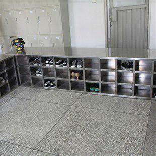东莞食品厂不锈钢鞋柜定做供应商