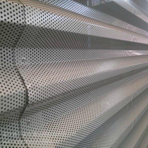 0.426镀铝锌穿孔压型钢板赞叹菩萨形象