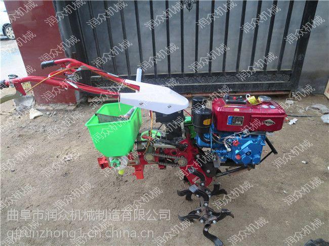 旋耕机械灭茬机 微型松土机 除草用柴油耕田机 润众