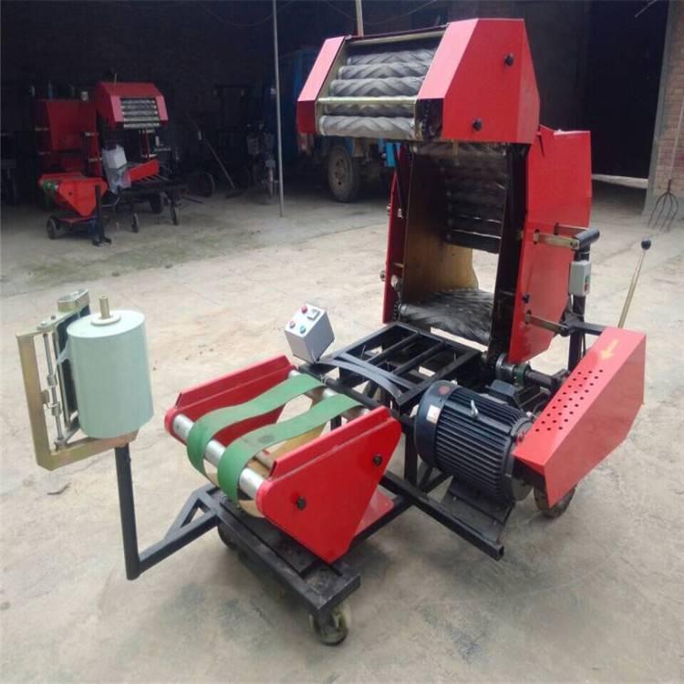 玉米秸秆牧草打捆机 快速高效秸秆打捆机
