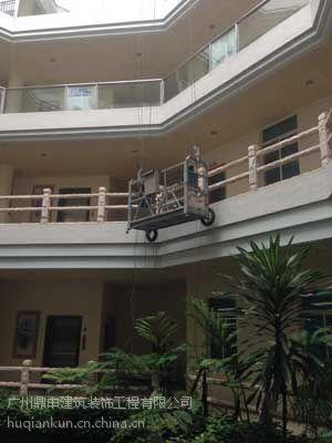 佛山外墙建筑吊篮吊船租赁安装