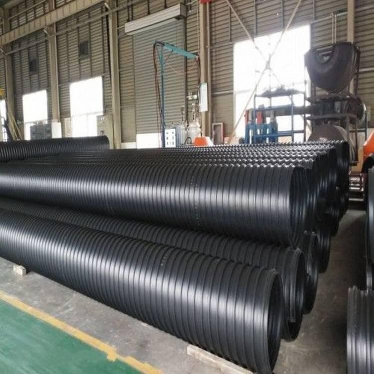我厂生产高质量低价位的钢带增强波纹管