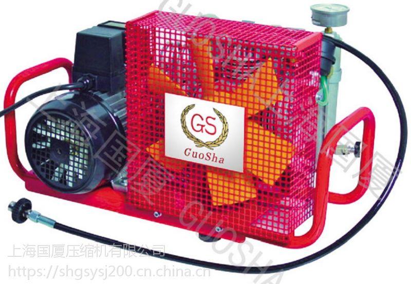 潜水气瓶空气填充泵,国厦正压式消防空气呼吸专用打气机