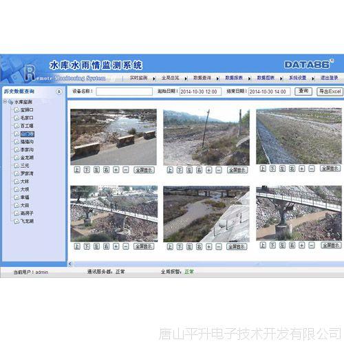 水雨情自动测报系统、水情监测、雨情监测