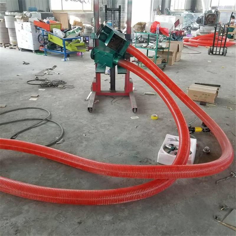 输送距离长吸粮机 电动软管吸粮机 小型跟车抽粮机 价格