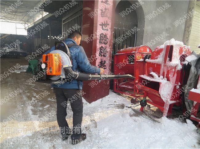 工厂大棚家用吹雪机 小型背负式吹雪机