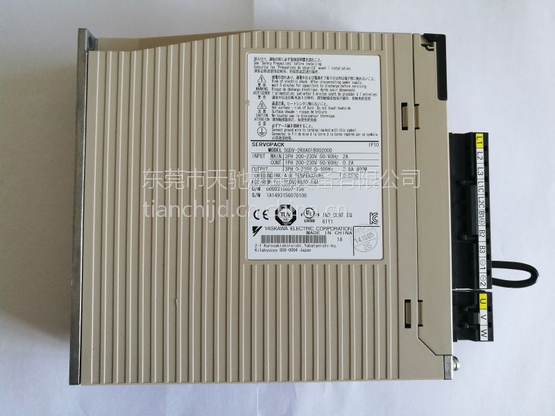 供应安川伺服不带刹车 通讯型400W 保修一年 可接维修