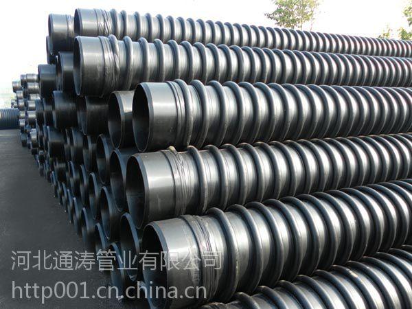 生产销售HDPE缠绕管B型管厂家、生产克拉管厂家、通涛管业集团克拉管