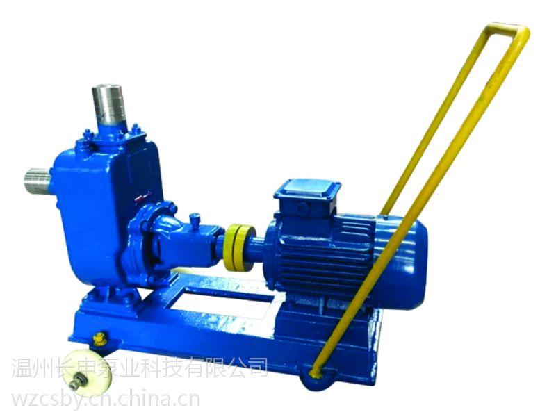 长申厂家直销大口径大流量(25-300MM)自吸泵、化工自吸泵江苏