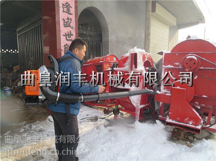 鸡西市肩背式吹雪机 润丰 公路清理落叶吹风机