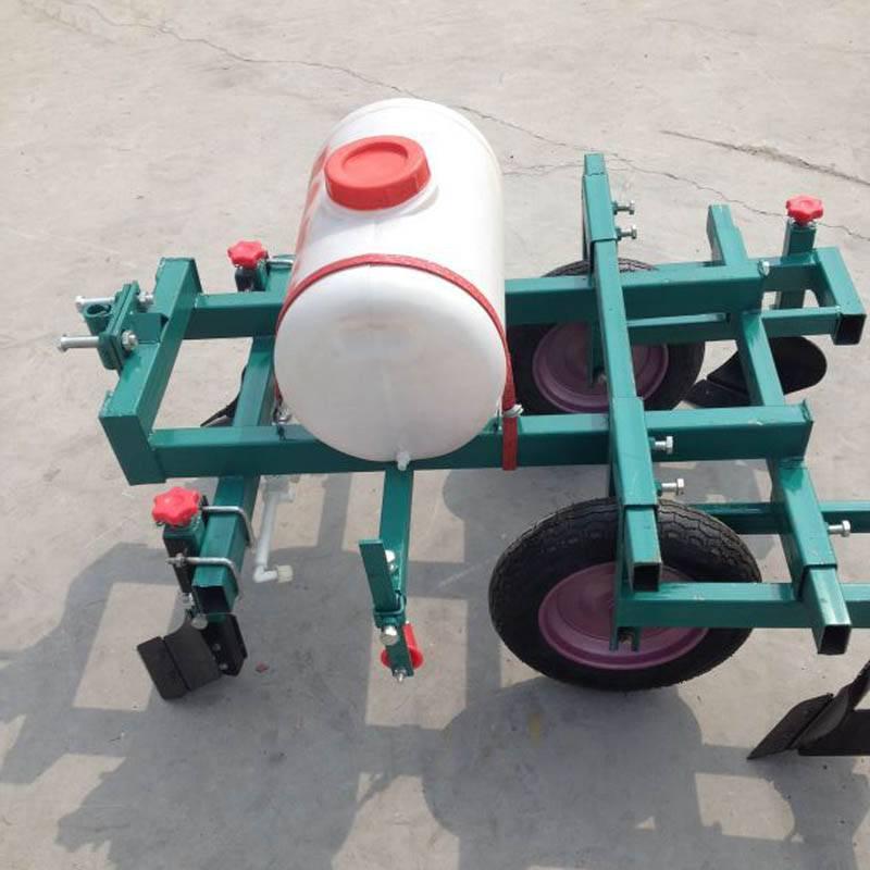农用起垄机 红薯土豆花生起垄覆膜机 手扶带动喷药覆膜机