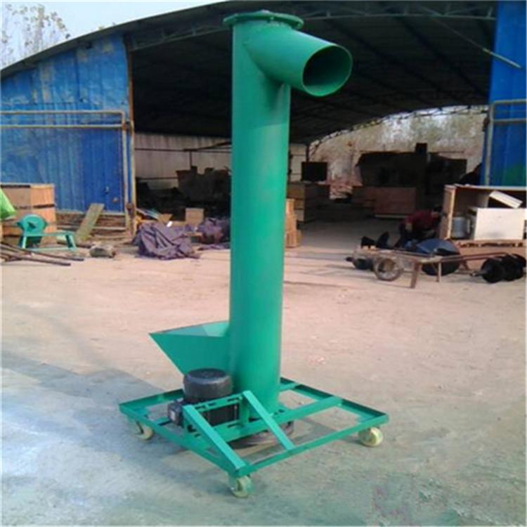 汇众垂直管式上料机 油菜籽蛟龙提升机 立式螺杆喂料机
