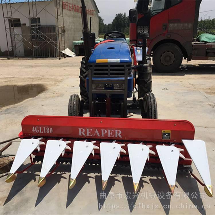 高杆农作物收割打捆机 割副宽的小麦割晒机