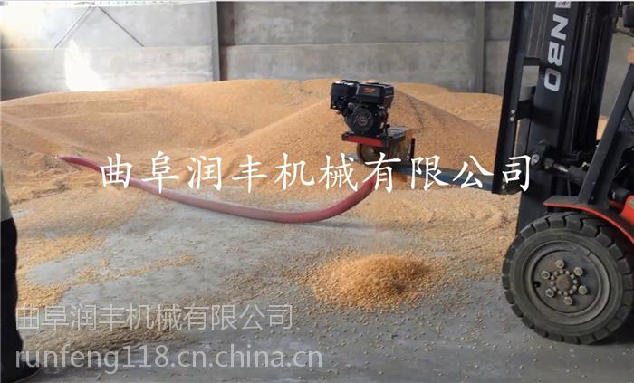 晒场收粮机价格 规格全直接把粮食打成对可以的晒场收粮机 润丰