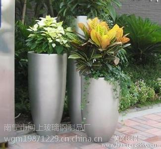 广西园林玻璃钢花盆定制加工生产厂家 花盆价格报价