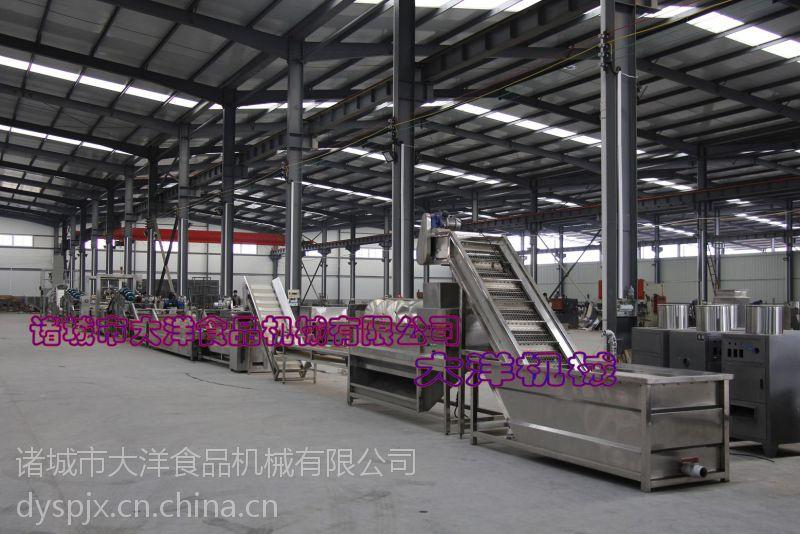 薯片生产线资料(全自动油炸薯条生产线)