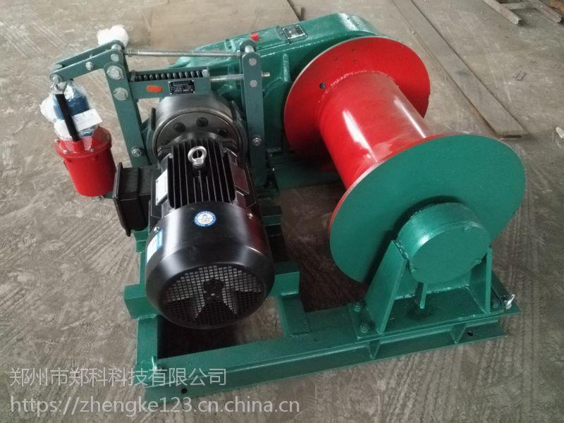 浙江台州JM-5T型四轴液压制动电控卷扬机起重平稳有力