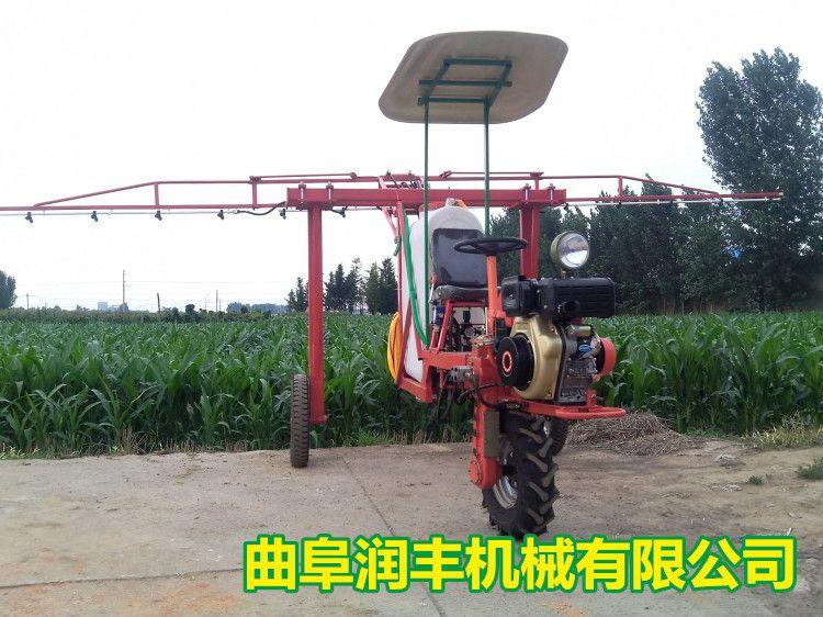 园林四轮手推式喷雾器 汽油动力喷雾器RF-PW