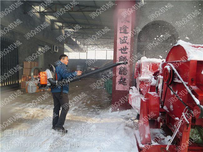 清理大棚积雪吹雪机 路面用小型吹雪机