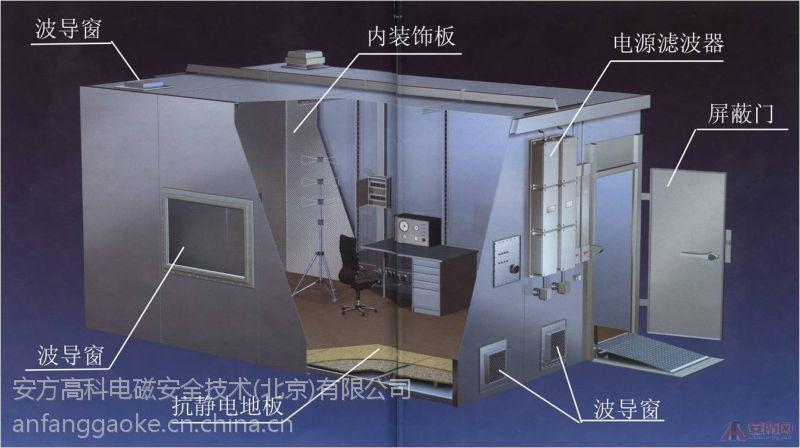 安方高科 运用电磁泄漏抑制技术的磁场防护室 厂家报价
